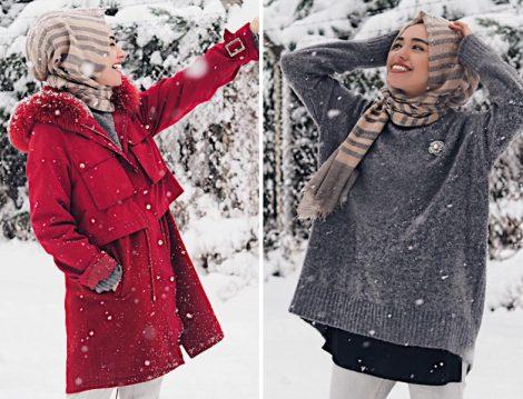 2017 Kış Tesettür Modelleri