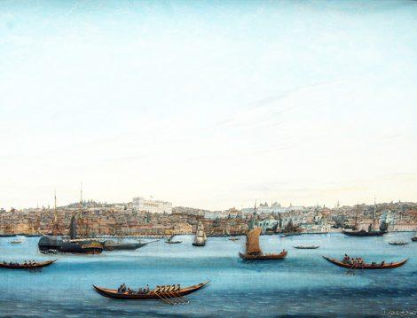 Denize Açılan Bir Sergi Liman