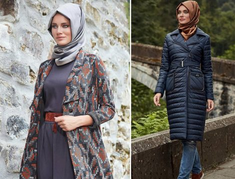 Alvina 2017 Kış Tesettür Giyim Modelleri