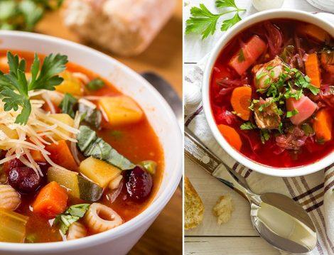 Sebze Çorbası Tarifleri