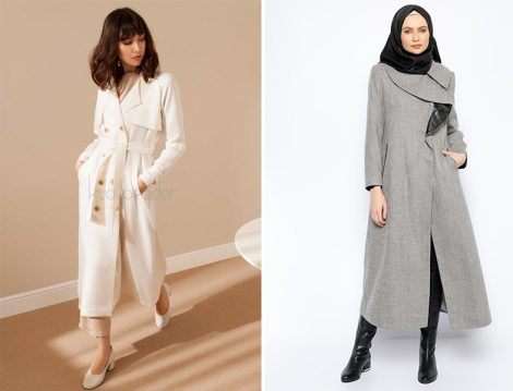 Stil Sahibi Tesettür Kap ve Ceketler