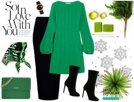 Yeşil Kıyafet Kombini Nasıl Yapılır