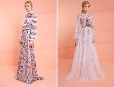 2017 Tesettür Elbise Modelleri