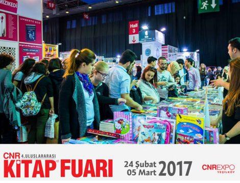 CNR Kitap Fuarı 5 Mart Pazar Gününe Kadar EXPO Yeşilköy'de