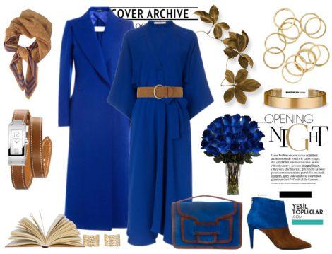 Mavi Tesettür Giyim Kombinleri 2017
