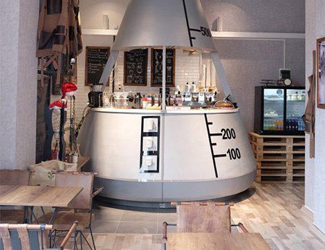 Meet Lab Coffee İsmiyle Müsemma Kahve Laboratuvarı Gibi Bir Mekan