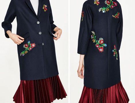 Nakışlı Ceket Zara