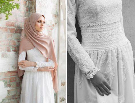 Tesettür Elbise Modelleri 2017