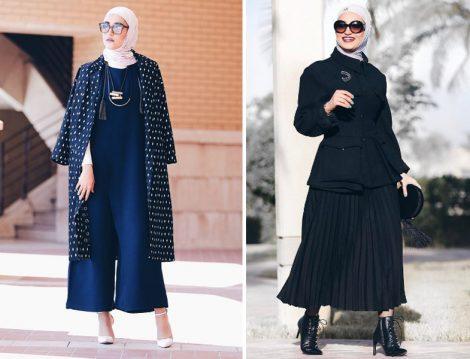 2017 Tesettür Giyim Kombinleri