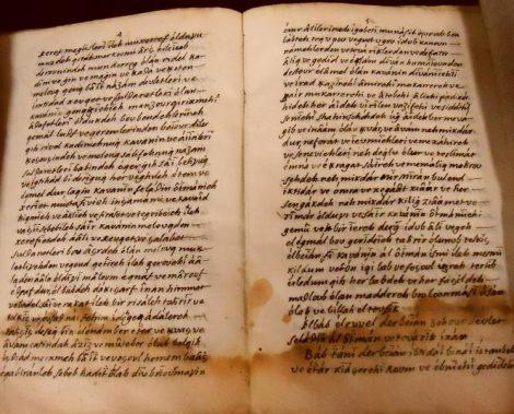 Fransa Milli Kütüphanesinde Bulunan Türkçe El Yazmaları