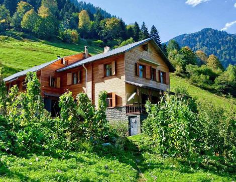 Doğa İle Baş Başa Kalabileceğiniz Dağ Evleri