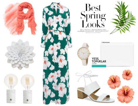 2017 Tesettür Yazlık Elbise Modelleri
