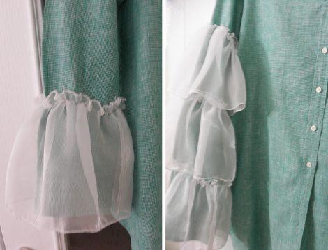 Evdeki Gömleğinize Fırfır Takarak Bu Modaya Sizde Uyun