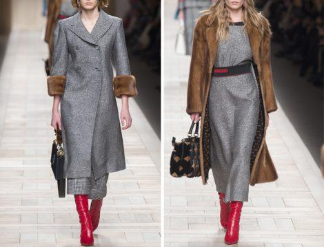 Fendi 2017 Sonbahar Kış Hazır Giyim Koleksiyonu