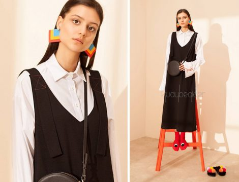 Tesettür Salopet Elbise ve Tesettür Jile Modelleri