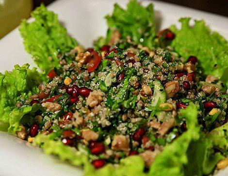 2017'nin 3. İftar Menüsüne Tokluk Hissi Verecek Tabbule Salatası Tarifi