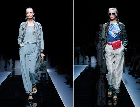 Emporio Armani'nin Stil Sahibi 2017 Yaz Kadın Koleksiyonu