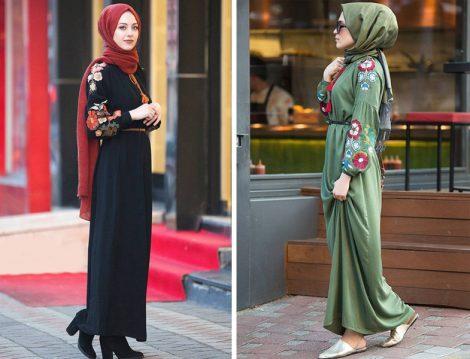 Tesettür Giyim Kombinleri 2017