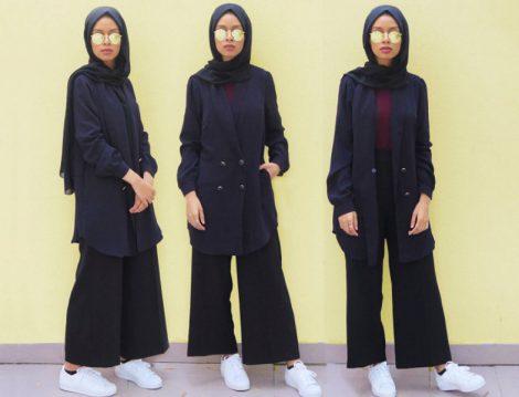 İftar Davetleri için Tesettür Giyim Modelleri