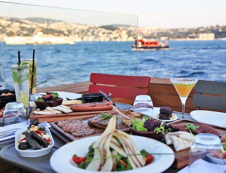 2017 İstanbul İftar Mekanları - The Market Bosphorus