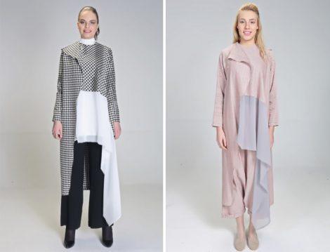 Hilal Oğuzkan 2017 Tesettür Elbise Modelleri