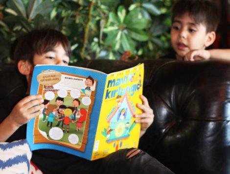 Çocukların Heyecanla Beklediği Dergi Mavi Kırlangıç