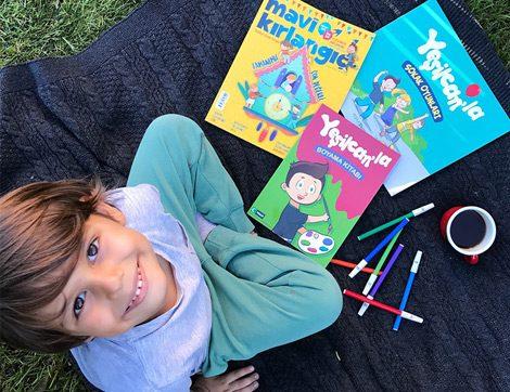 """Çocukların Heyecanla Beklediği Dergi """"Mavi Kırlangıç"""""""