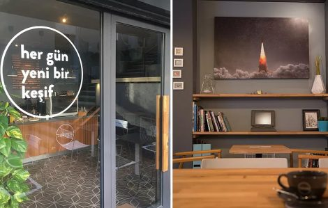 Şehrin Merkezindeki Güzel Kahve Kokularının Kaynağı Coffee Jupiter