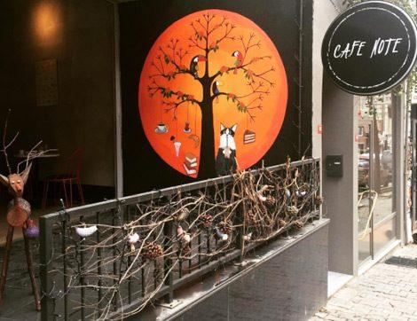 Bir İç Mimarın Huzurlu Dünyası Cafe Note