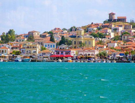 Masmavi Deniziyle Türkiye'nin En Güzel Adalarından Biri Cunda Adası