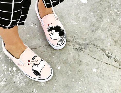 Snoopy, Vans İle Geri Geliyor