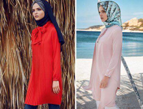 Tuğba Venn 2017 Yaz Tesettür Bluz ve Tunik Modelleri
