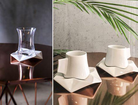 Çay ve Kahve Sunumunun Geometrik Hali