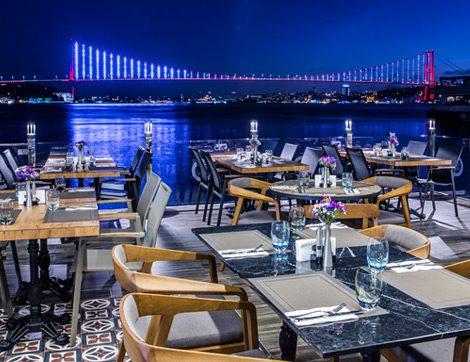 Boğaz Kenarında, Günün Her Saati İyi Yemek Beyaz Bosphorus'ta