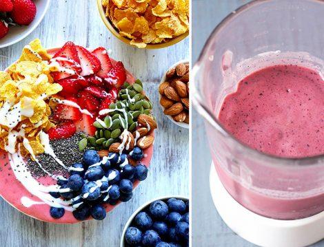 Görüntüsüyle İştahınızı Açacak Sağlıklı Bir Lezzet; Smoothie Bowl