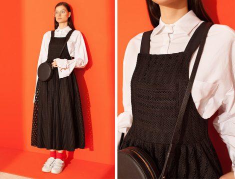 Siyah Tesettür Giyim Elbise ve Tunik Modelleri