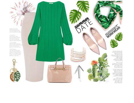 2017 Yılının Rengi Yaprak Yeşili ile 3 Farklı Yaz Kombini