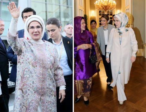Emine Erdoğan Kıyafet Modelleri 2017-2018