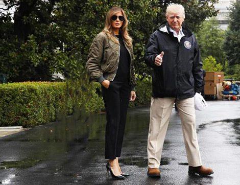 Mrs. Trump, Savaş Uçağı Pilotu Konseptli Bir Çekime Gelen Manken mi?!!!