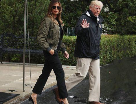Mrs. Trump, Savaş Uçağı Pilotu Konseptli Bir Çekime Gelen Manken mi