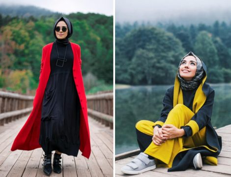 Hulya Aslan Kıyafet Modelleri 2017 Kış