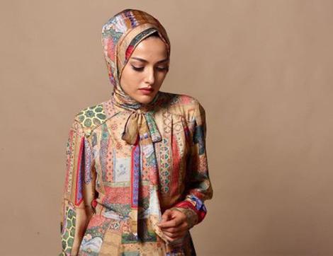 Takım Dayanışması: Desenli Elbise Ve Şal