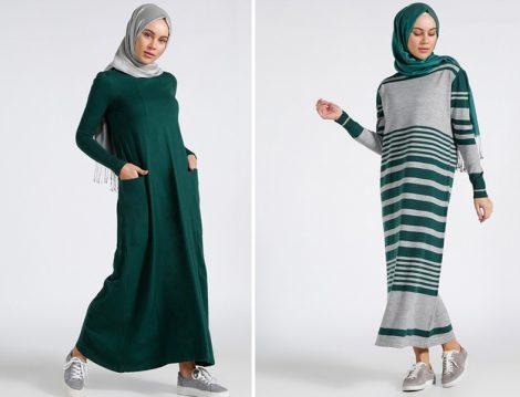 Tesettür Gençler İçin Günü Kurtaran Rahat Elbiseler
