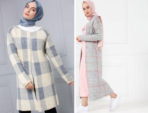 Tesettür Hırka Modelleri 2017 Sonbahar Kış