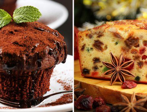 Biri Meyveli Biri Çikolatalı Yapımı Kolay Lezzeti Enfes 2 Kek Tarifi