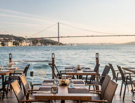 Boğaz Manzarası Restoranlar Beyaz Bosphorus