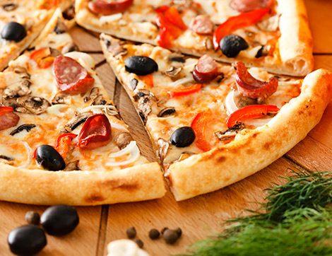 Dillere Destan Damaklara Ziyafet Pizzaların Adresi: Cafe 2