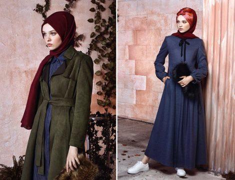 Nihan 2017 Sonbahar Kış Koleksiyonu Pardesü ve Kaban Modelleri