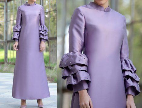 2018 Tesettür Abiye Elbise Modelleri