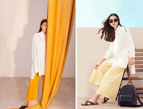 Beyaz Tunikle 5 Farklı Kombin